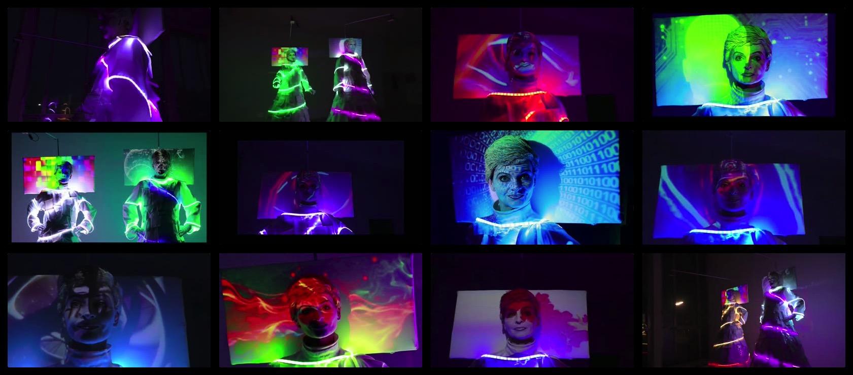 Standbilder aus Living Screen Video